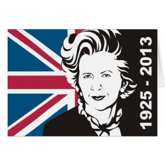 UK mourns Margaret Thatcher, England's Iron Lady Card