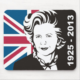 UK mourns Margaret Thatcher, England's Iron Lady Mouse Pad