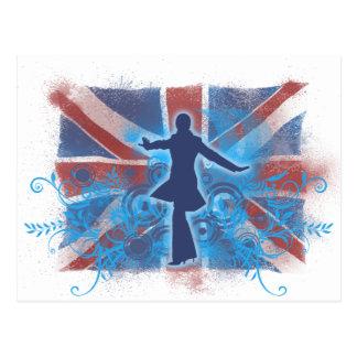 UK Punk Postcard