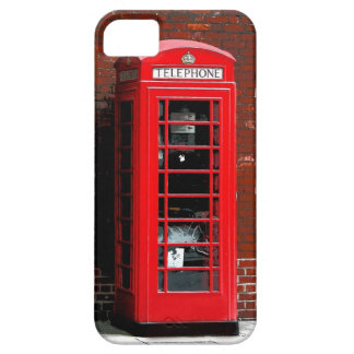 UK Red Phone Booth iPhone SE/5/5s Case