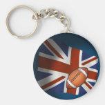 UK Rugby Keychain