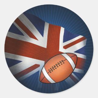 UK Rugby Sticker