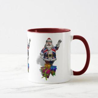 UK Santa Claus Mug