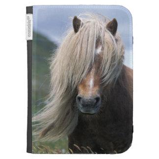 UK Scotland Shetland Islands Shetland pony Kindle 3 Cases