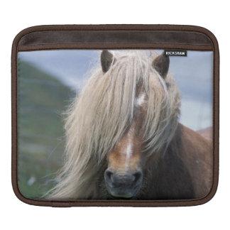 UK Scotland Shetland Islands Shetland pony iPad Sleeves