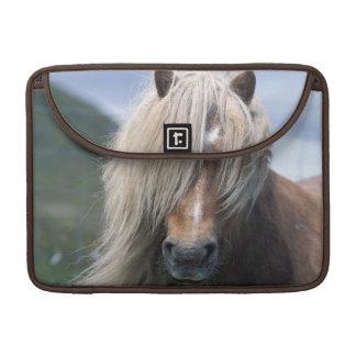UK Scotland Shetland Islands Shetland pony MacBook Pro Sleeve