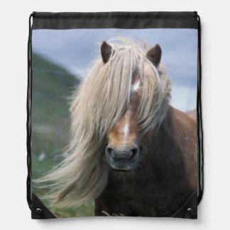 UK Scotland Shetland Islands Shetland pony Backpack