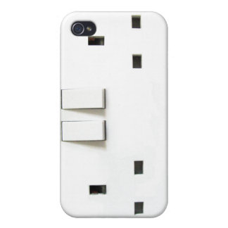UK Socket design Case For iPhone 4
