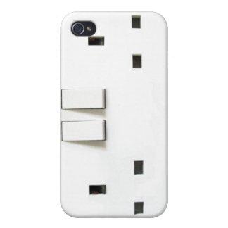 UK Socket design iPhone 4 Case