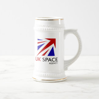 UK Space Agency Beer Stein