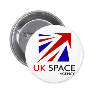 UK Space Agency Pinback Buttons