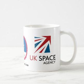 UK SPACE AGENCY LOGO MUG