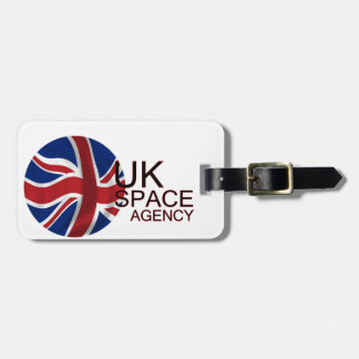 UK Space Agency Luggage Tag