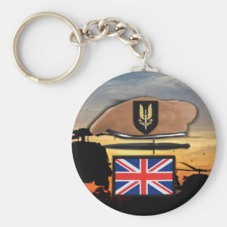 uk special air service sas badge beret veterans keychain