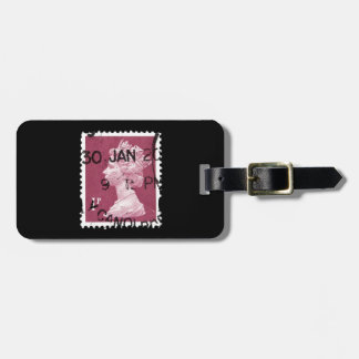 UK Stamp Bag Tag