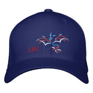 UK SUN  DRAGON EMBROIDERED BASEBALL HAT