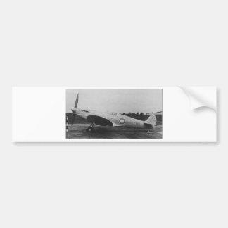 UK Supermarine Spitfire Bumper Sticker