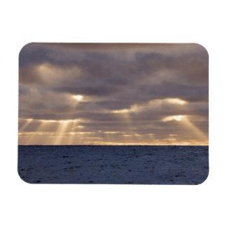 UK Territory, South Georgia Island, Scotia Sea. Rectangle Magnets