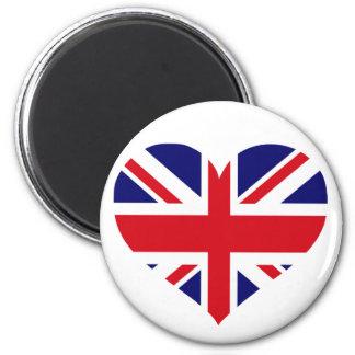 UK Union Jack 2 Inch Round Magnet