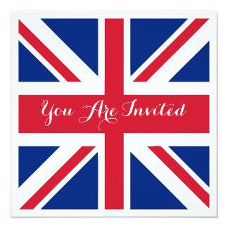 UK Union Jack Flag British Wedding Card