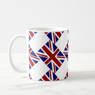 UK Union Jack Flag Diagonal Coffee Mug