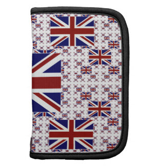 UK Union Jack Flag in Layers Folio Planners