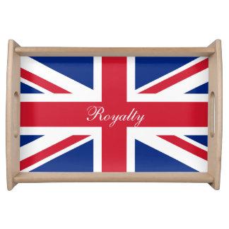 UK Union Jack Flag Patriotic Personalized Food Tray