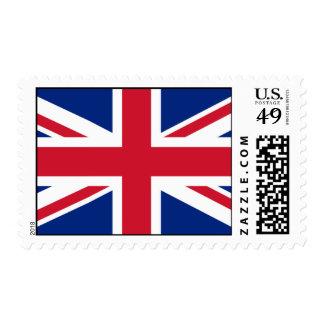 UK Union Jack Flag Postage Stamps