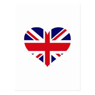 UK Union Jack Post Card