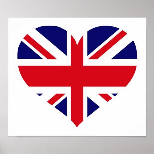 UK Union Jack Poster