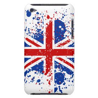 UK Union Jack Splash Colors Flag iPod Touch Case