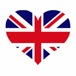 UK Union Jack Statuette