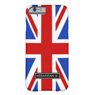 Uk United Kingdom Flag Barely There iPhone 6 Case