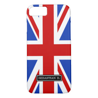 Uk United Kingdom Flag iPhone 8/7 Case