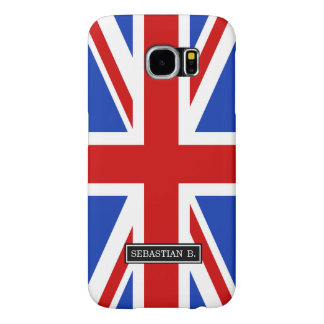 Uk United Kingdom Flag Samsung Galaxy S6 Case