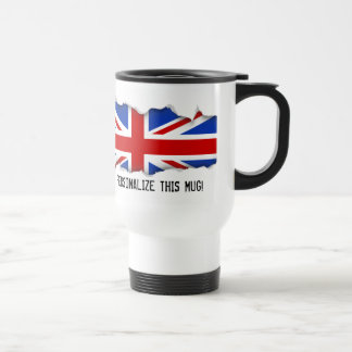 Uk United Kingdom Flag Travel Mug