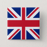 "UK United Kingdom Union Jack Flag Pinback Button<br><div class=""desc"">UK United Kingdom Union Jack Flag design .. patriotic British products from Ricaso</div>"