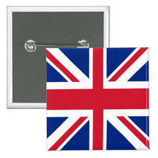 UK United Kingdom Union Jack Flag Pinback Button