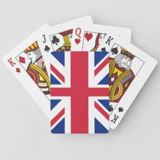 UK United Kingdom Union Jack Flag Playing Cards
