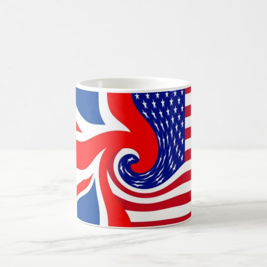 UK/USA FLAG-LOVIN' COUSINS COFFEE MUG