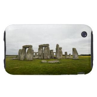 UK, Wiltshire, Stonehenge iPhone 3 Tough Cases