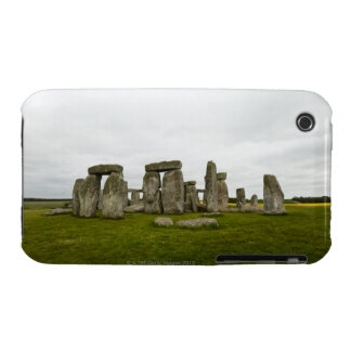 UK, Wiltshire, Stonehenge iPhone 3 Case-Mate Cases