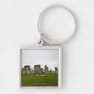 UK, Wiltshire, Stonehenge Keychain