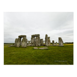 UK, Wiltshire, Stonehenge Postcard