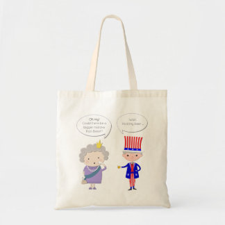 UK: Worse Than Brexit? US: Hold My Beer • Trump Tote Bag