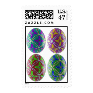 Ukainian Easter Egg Stamp