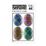 Ukainian Easter Egg Stamp