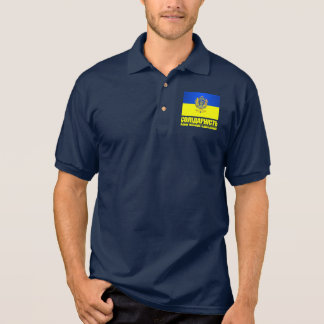 Ukarine (Solidarity -One People, One Nation) Polo T-shirts