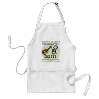 Uke can do it! adult apron