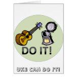 Uke can do it! card